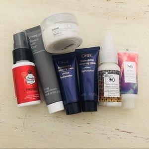 New- 7 Hair Product Sample Bundle